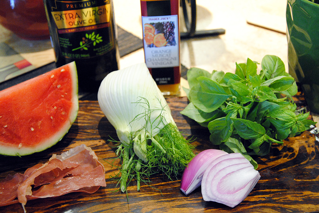 Watermelong Fennel Salad