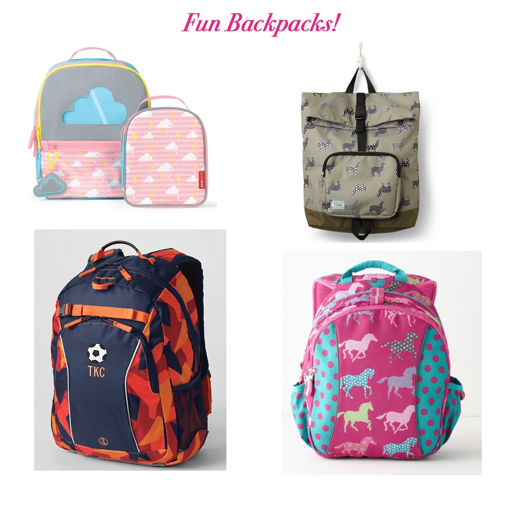 Fun Backpacks