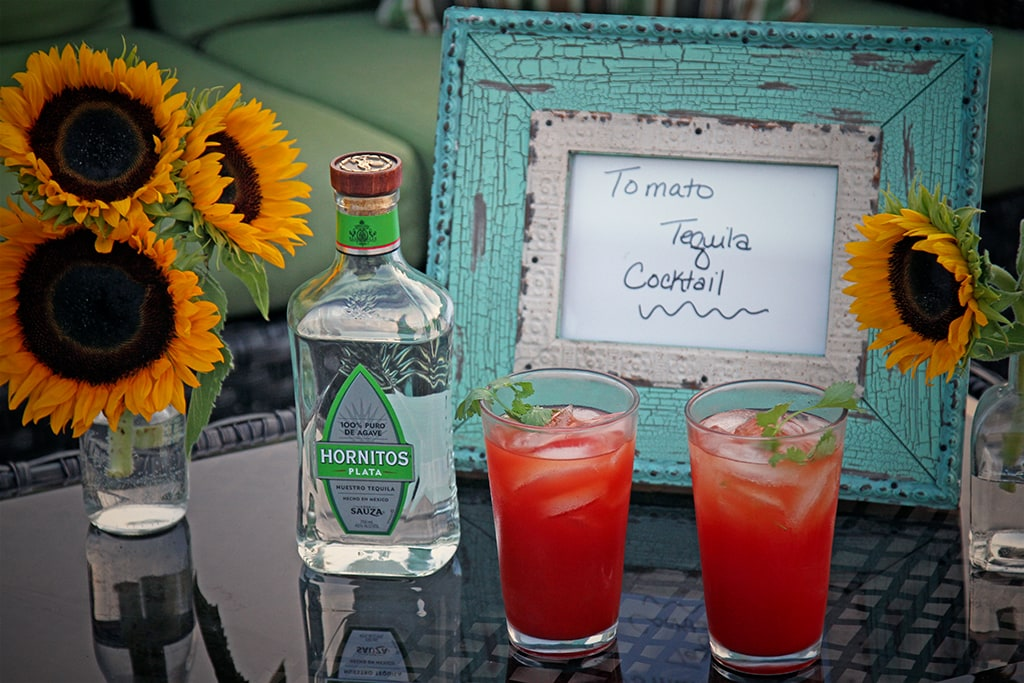 Tomato Tequila Cocktail