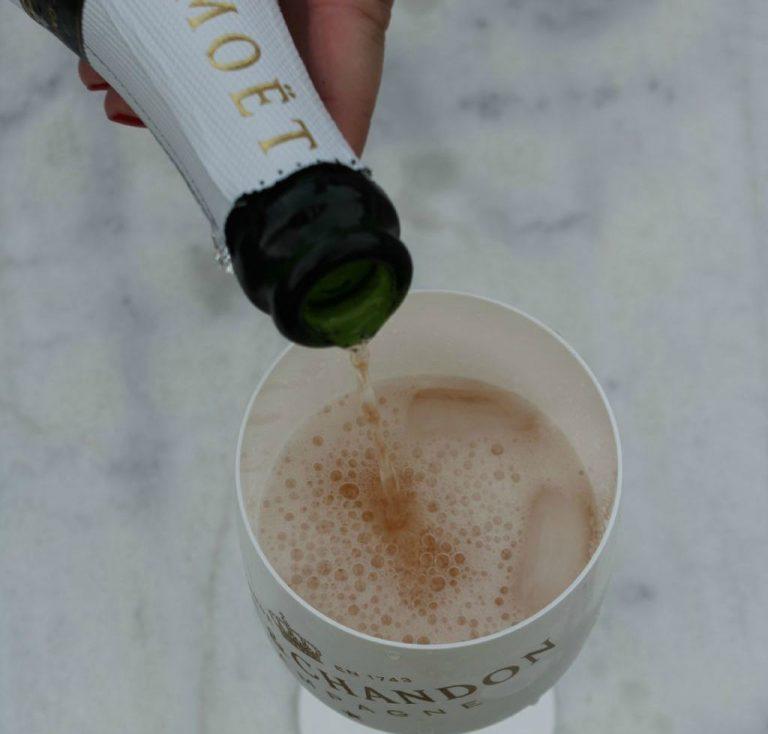 The Perfect Champagne Garnish