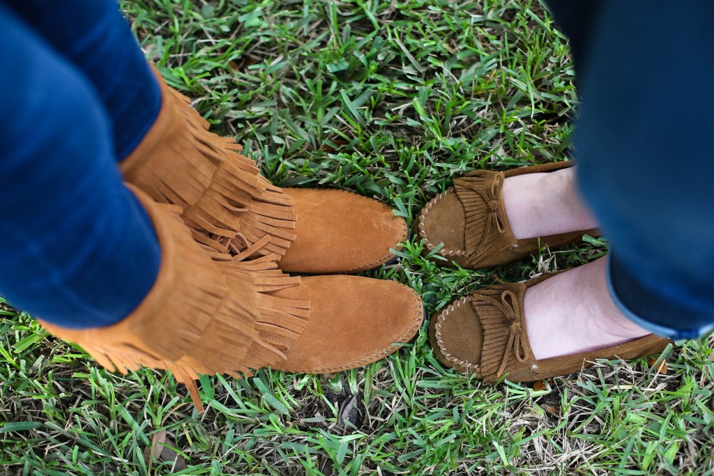 Moccasins Two Ways
