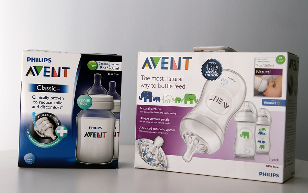 Phillips Avent Natural Bottles