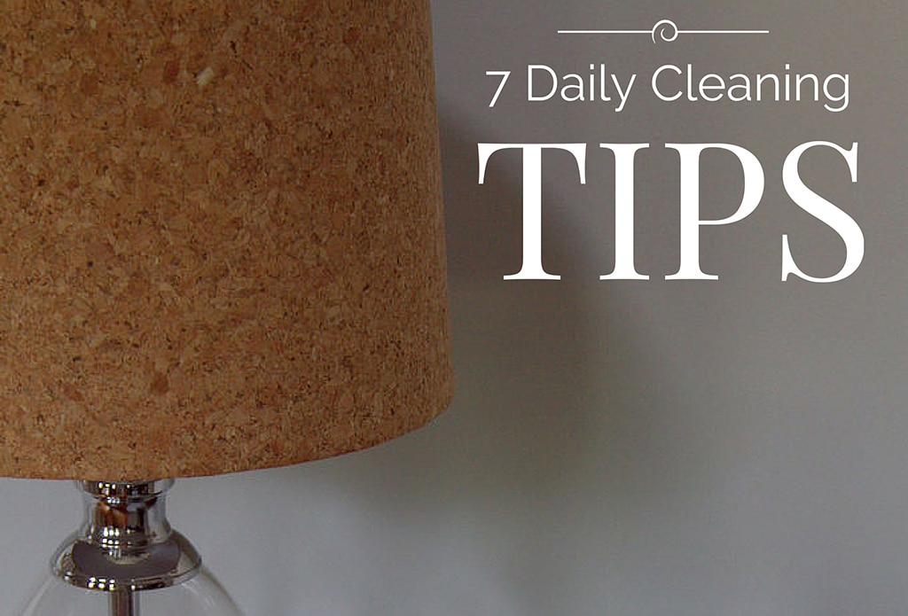 Daily Cleaning Tips
