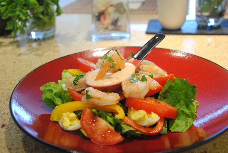 Roasted Shrimp Three Ways