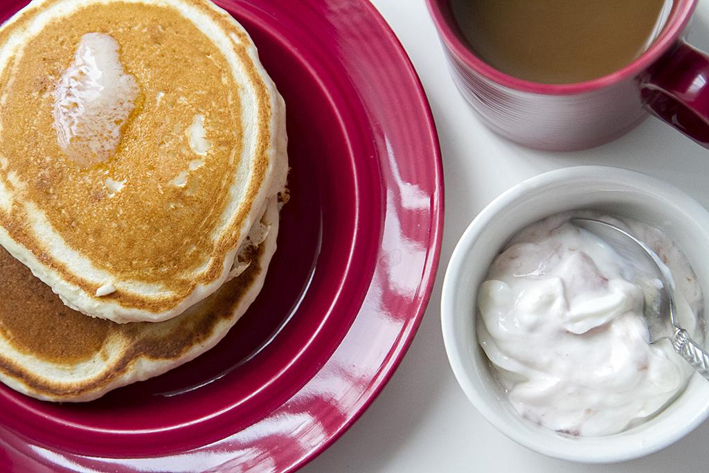 noosa yoghurt at breakfast