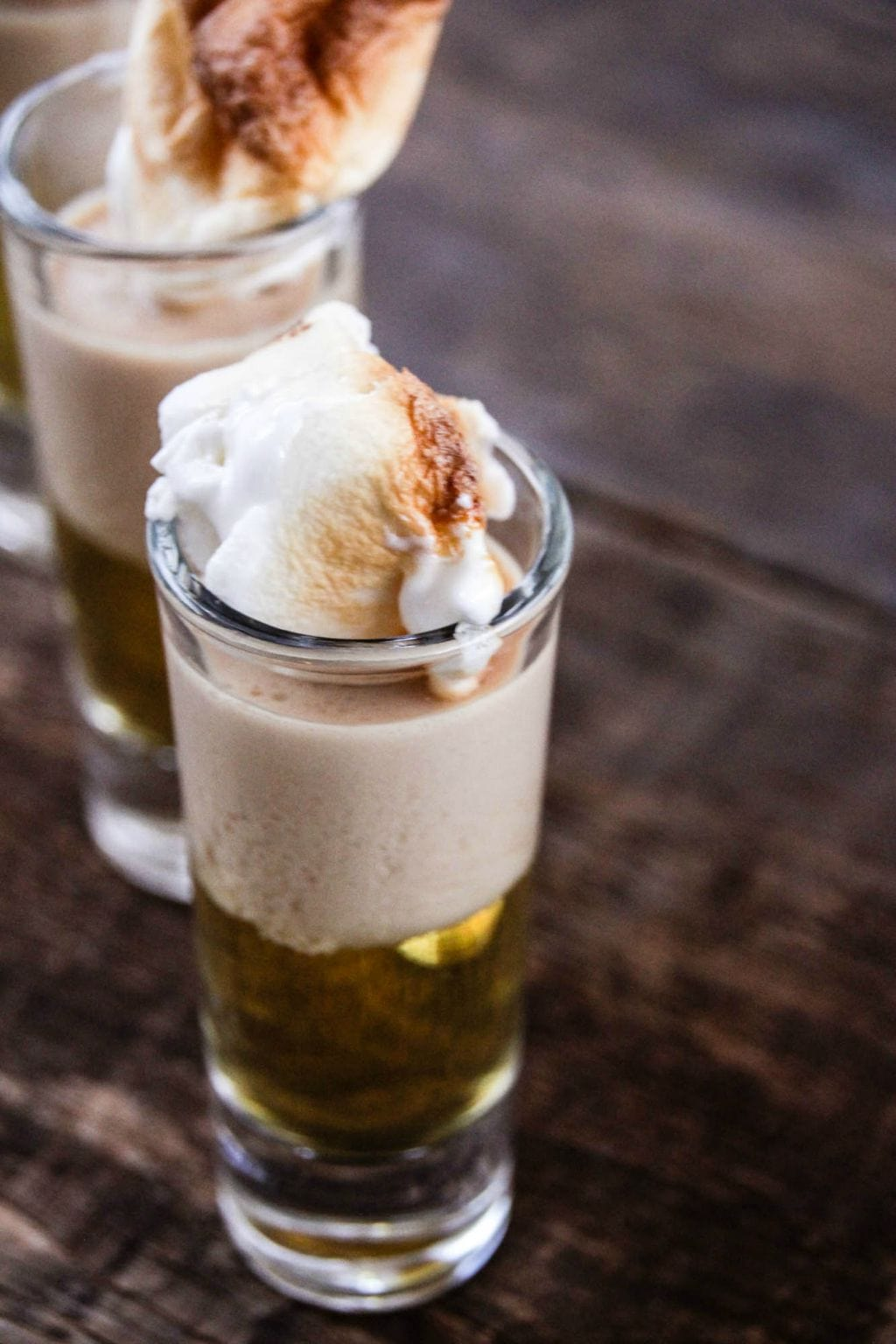 Irish Apple Pie Shooters