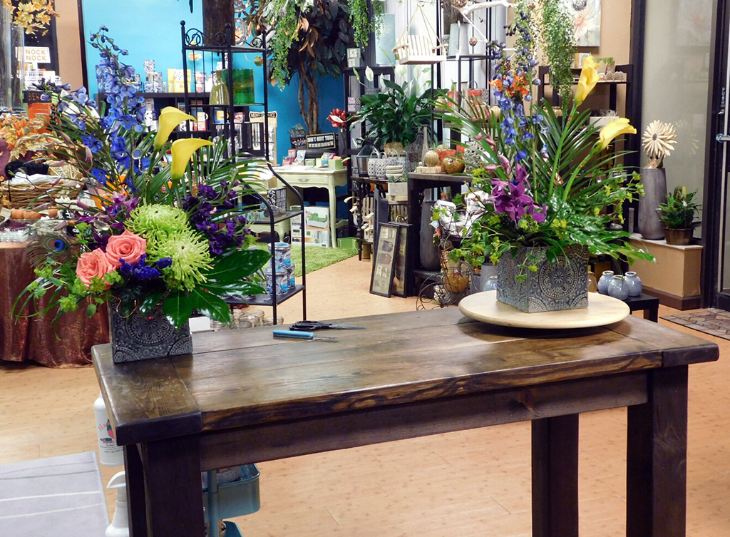 Final Floral Arrangements