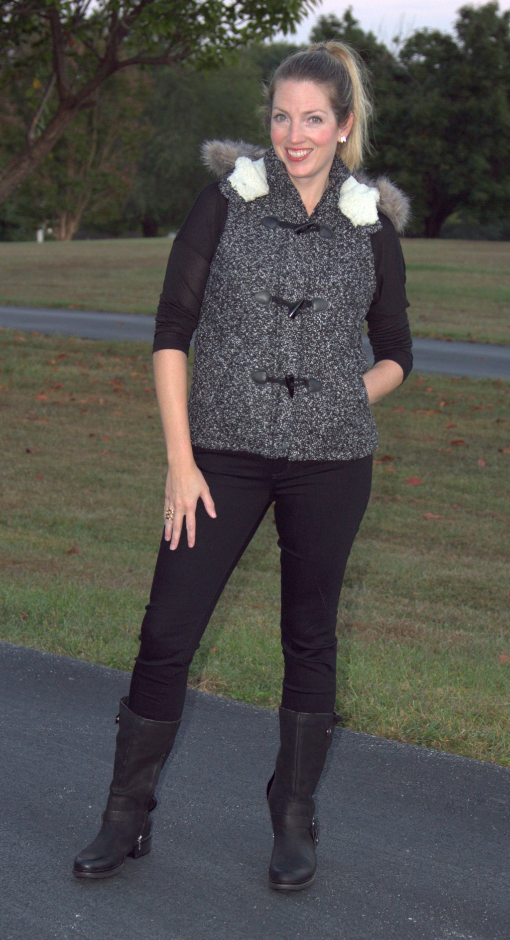 Moms Do Fall Fashion: Vest