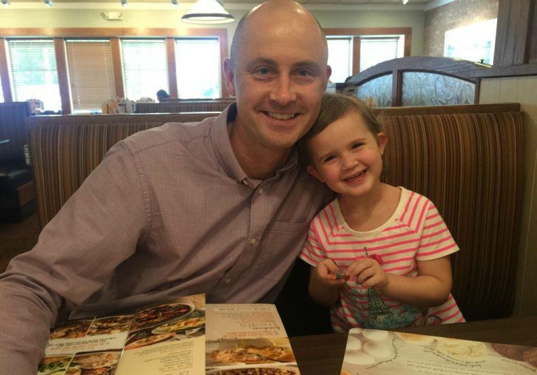 Daddy Daughter Date Night Idea: Bob Evans