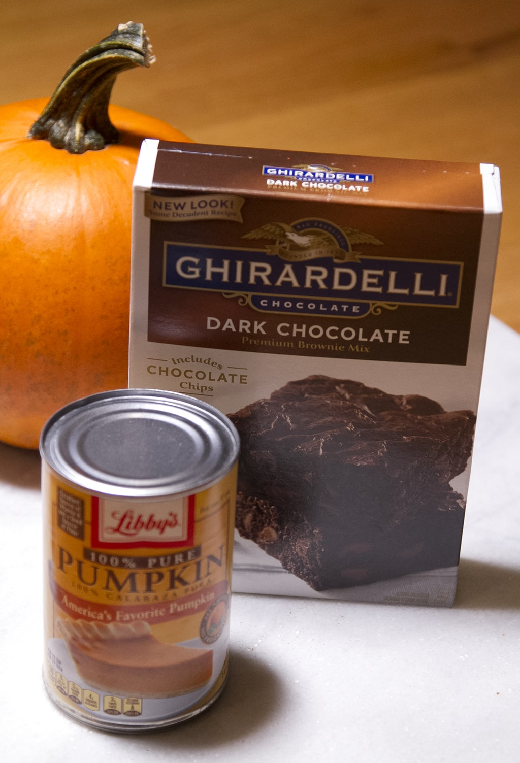 pumpkin brownies ingredients