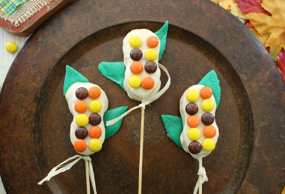 candy corn stalks