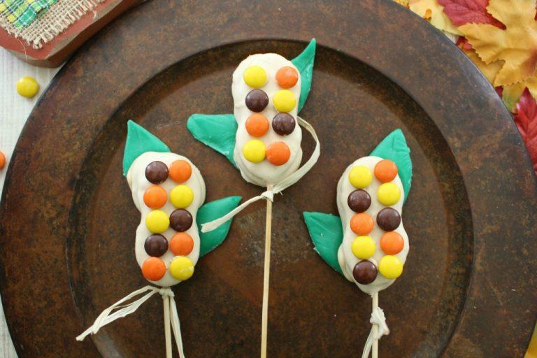 Candy Corn Stalks: Fun Fall Treat
