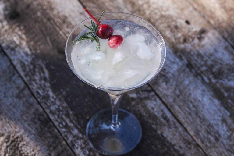 Peppermint Grapefruit Martini