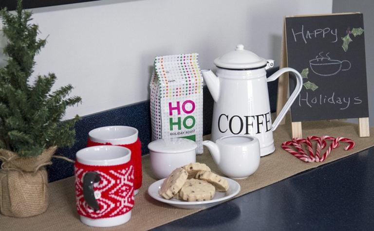 Creating a Holiday Coffee Bar: Holiday Entertaining