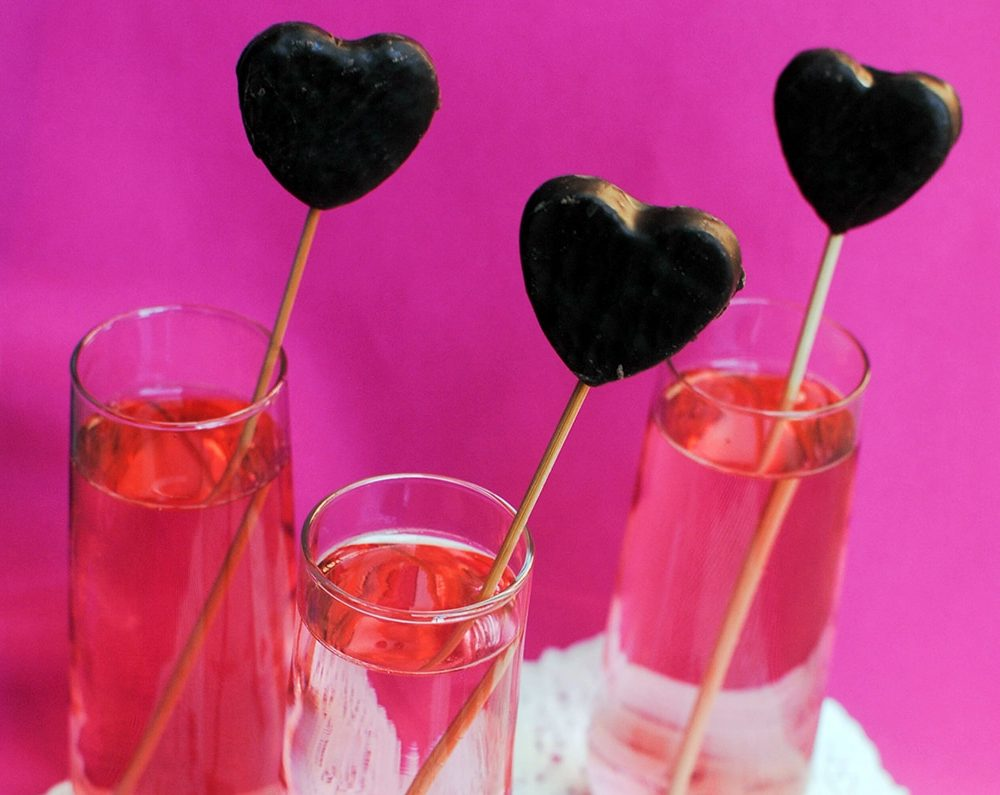 Valentine's Day Stir Sticks
