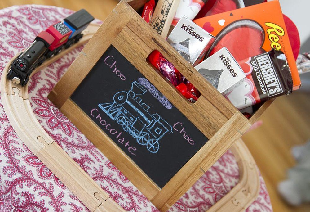 Hershey Valentine Basket