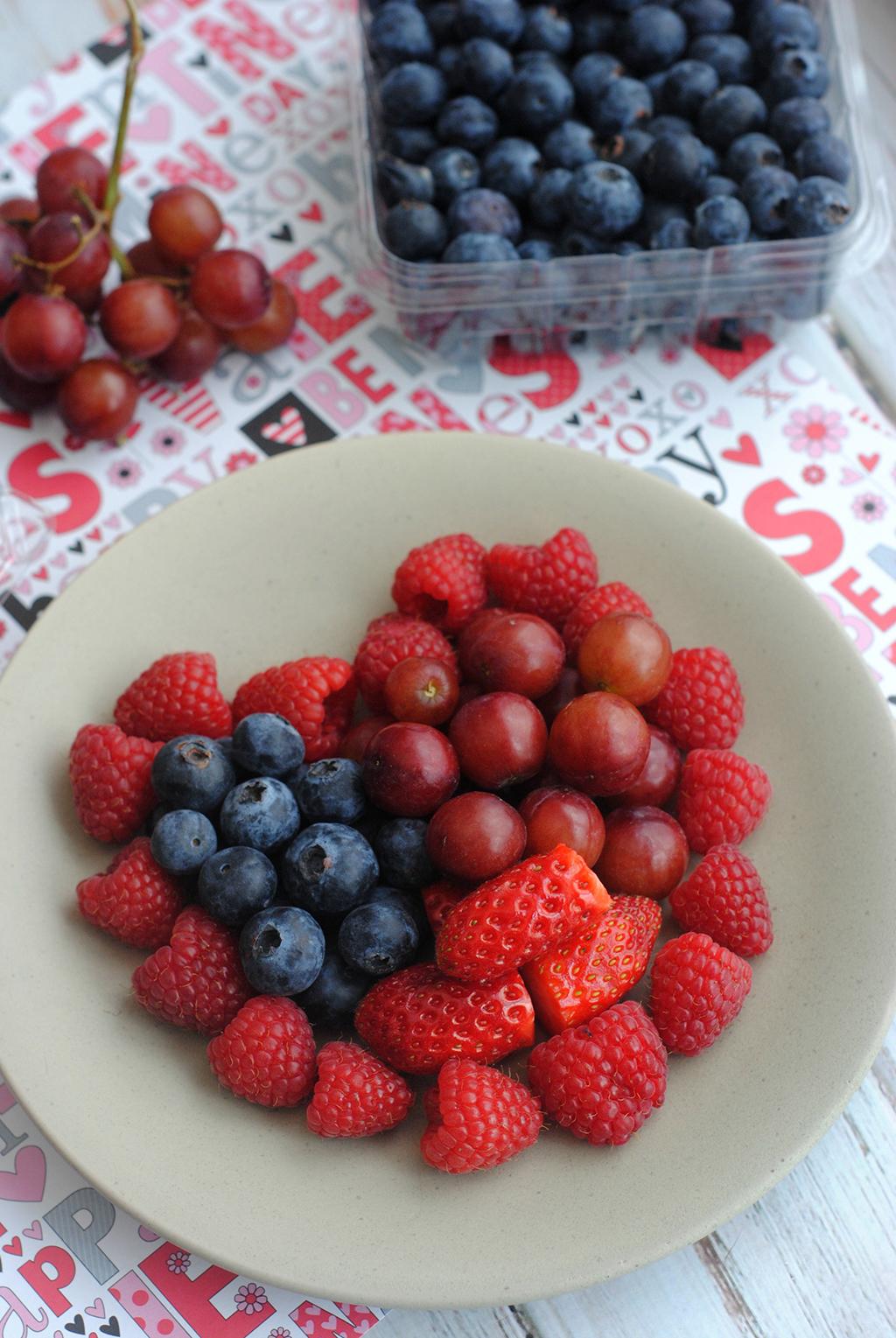 Valentine Fruit Heart