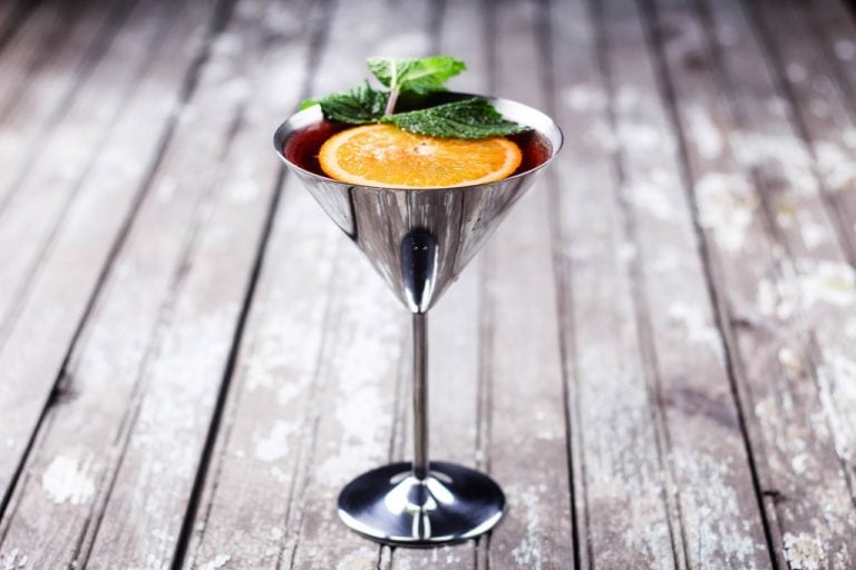 Strawberry Orangetini Cocktail Recipe
