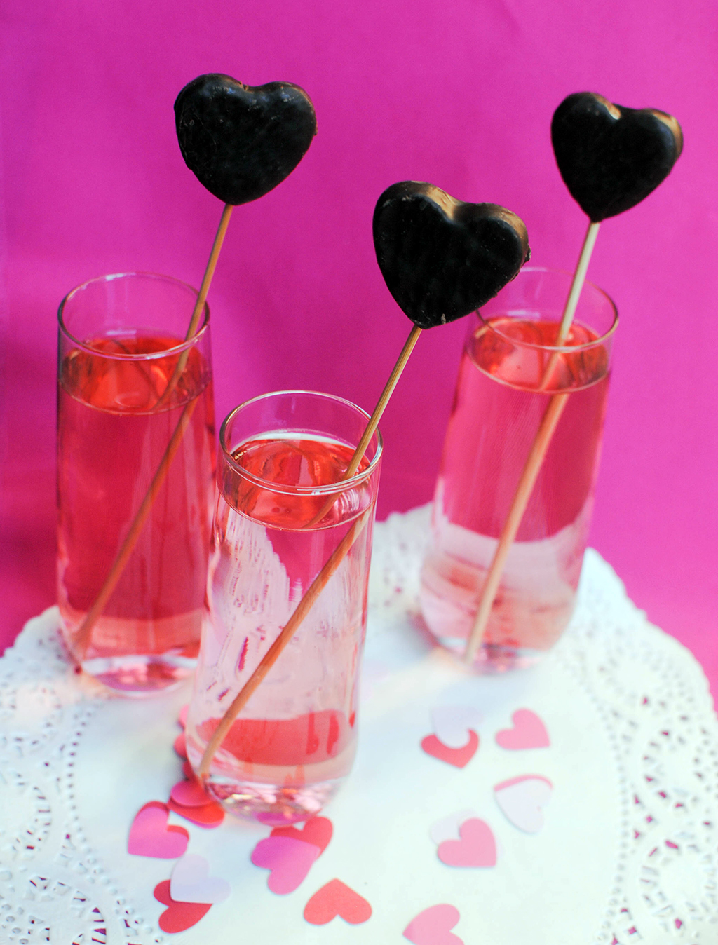 heart candy stir sticks