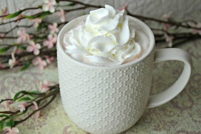 Strawberry Hot Chocolate Mix
