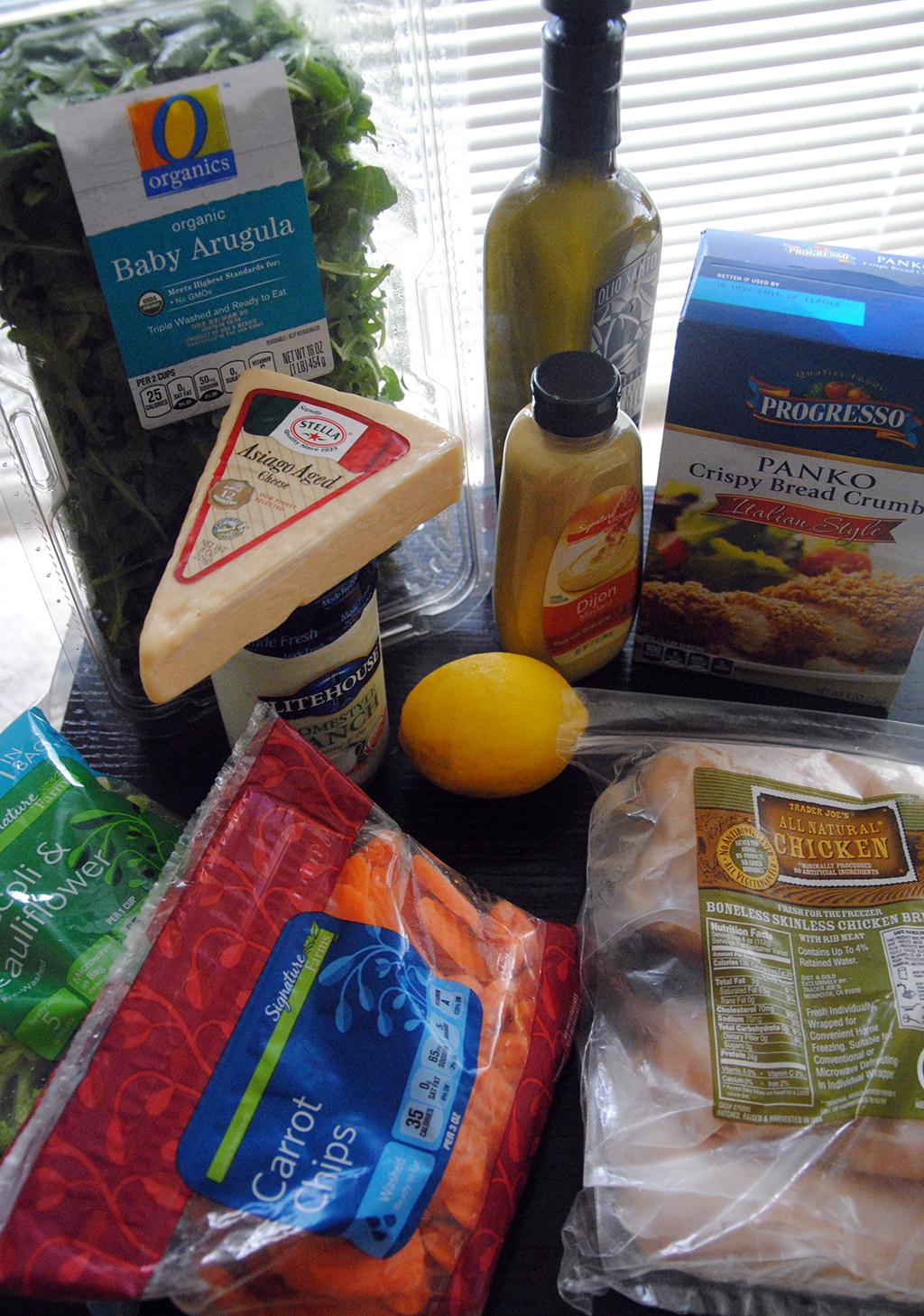 Midweek Meals Ingredients