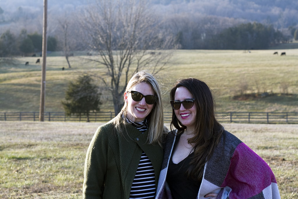Best Friends at Winery