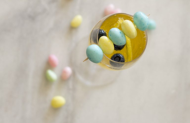 Easter Brunch Jelly Bean Cocktail