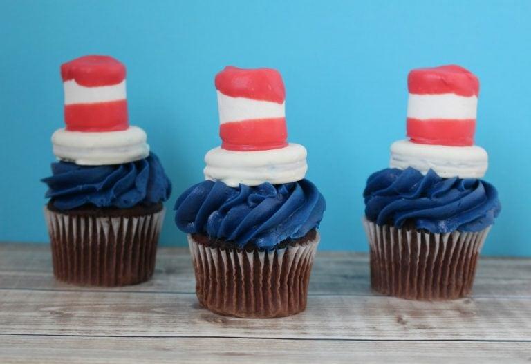 Cat in the Hat Cupcakes Recipe