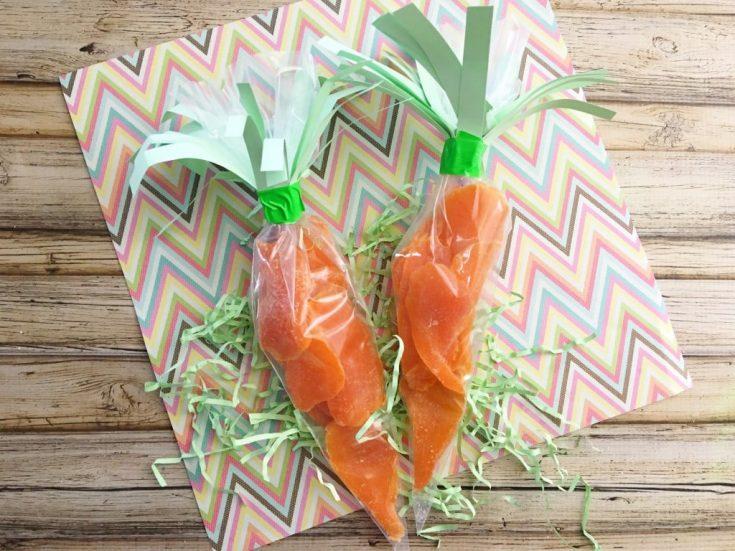 DIY Carrot Easter Treats