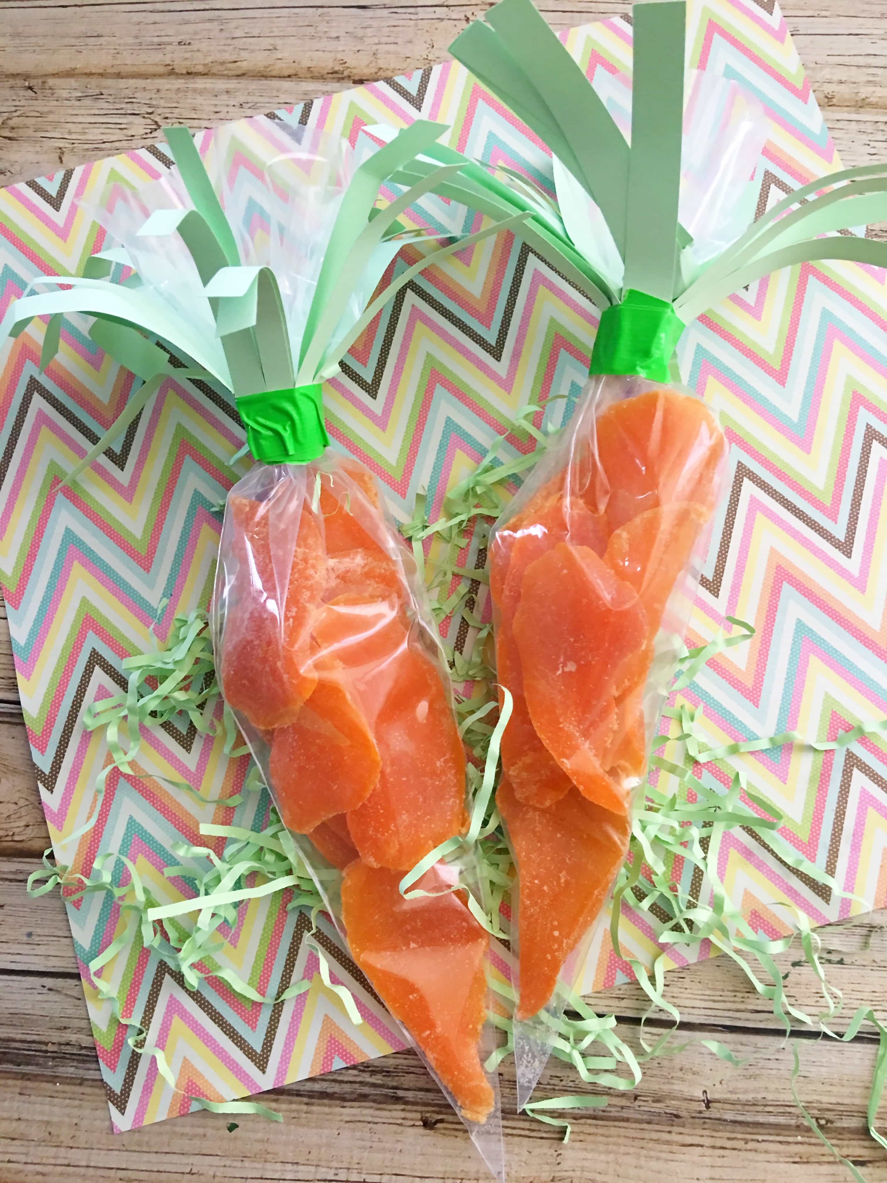easy carrot Easter treats DIY