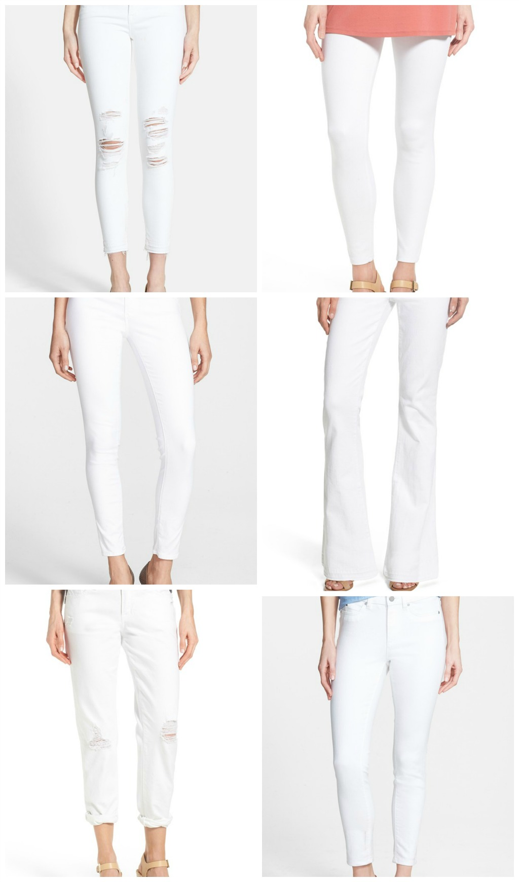 white denim favorites