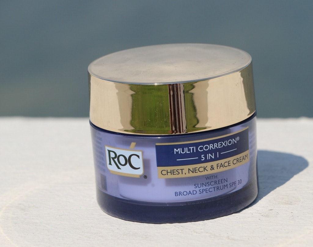 roc mutli correxion 5 in1 chest, neck and face cream