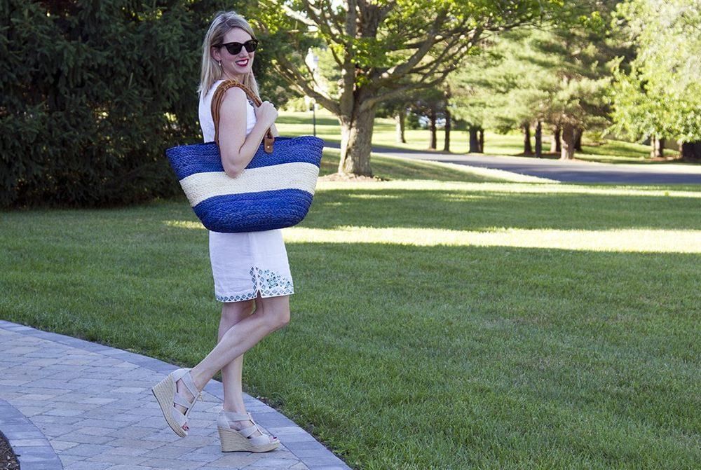 J Jill White Dress