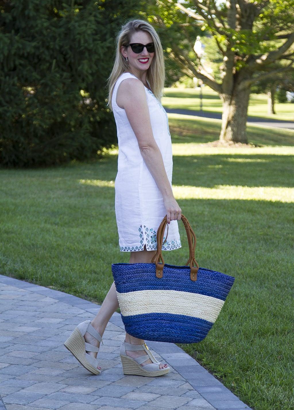 J. Jill Linen Dress