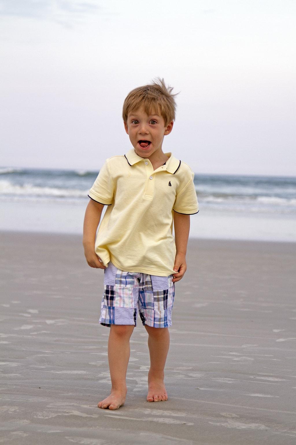 Kid Beach Photos