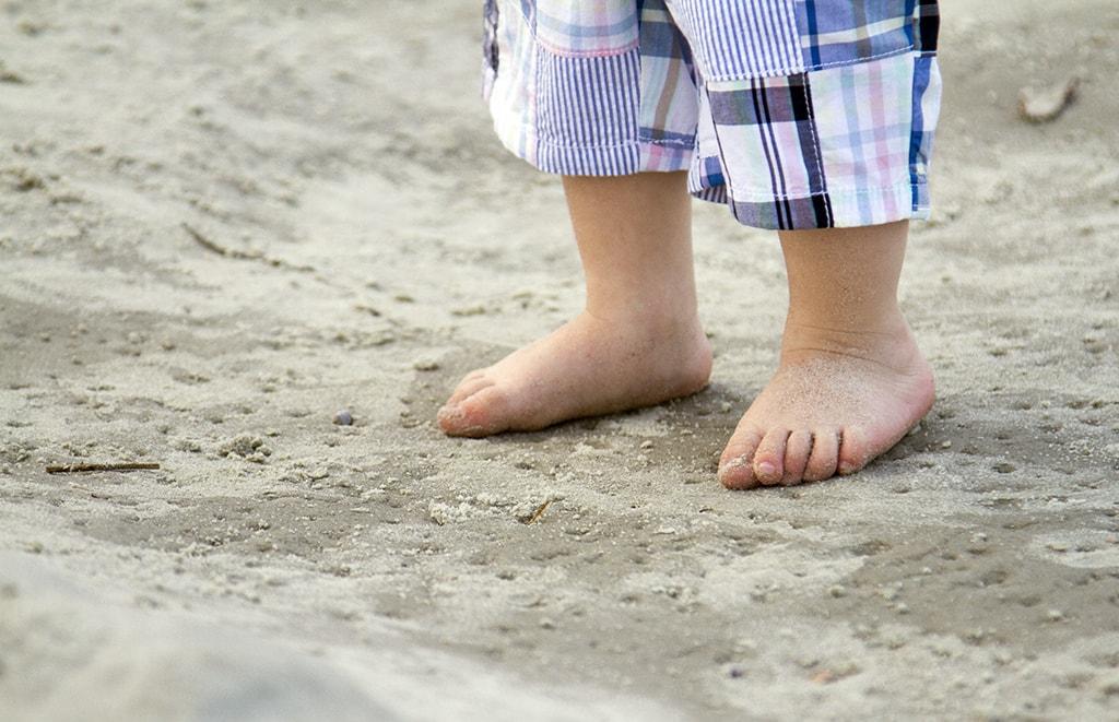 Beach Baby Feet
