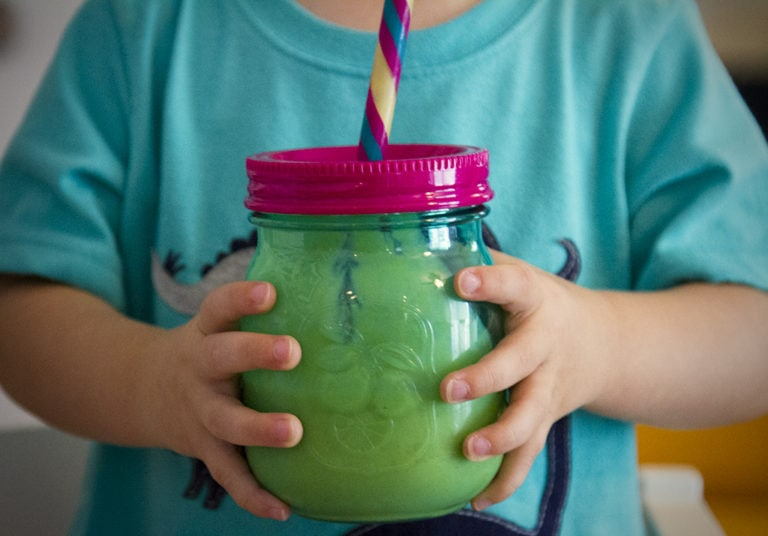 How To Make a Green Smoothie with Beech-Nut