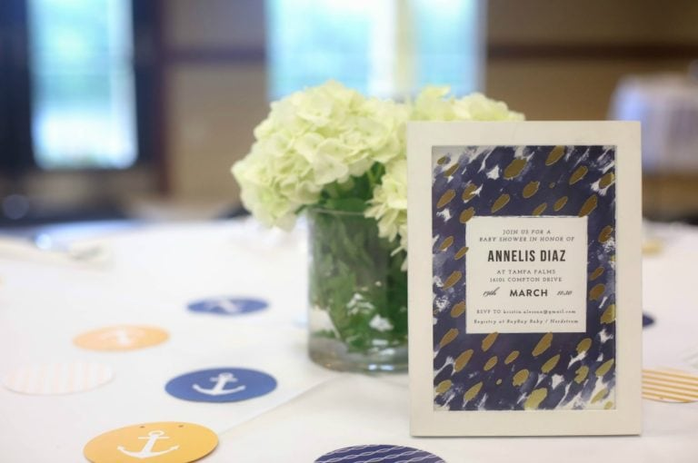 Nautical Baby Shower with Minted