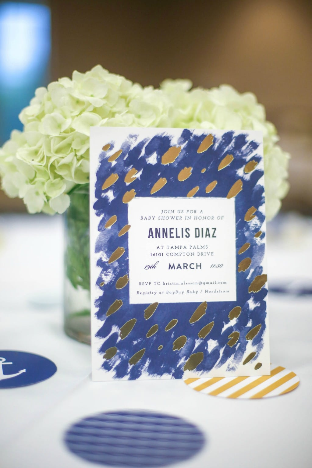 nautical invitation