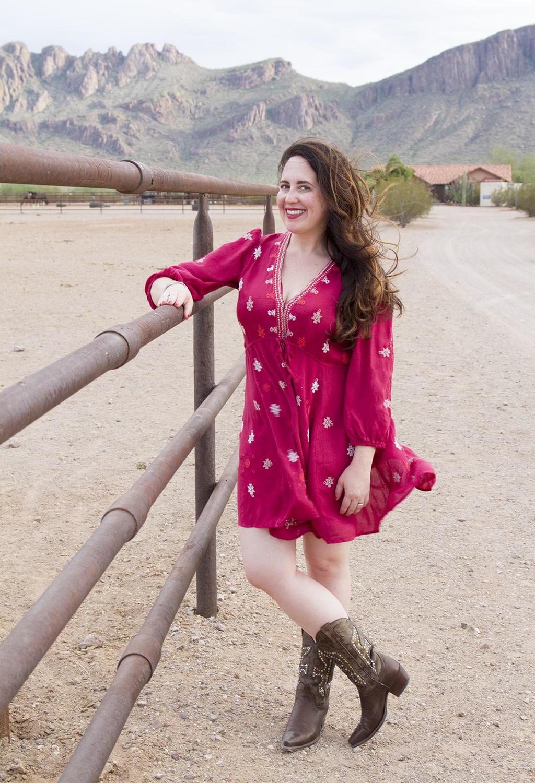 Red Dress Long