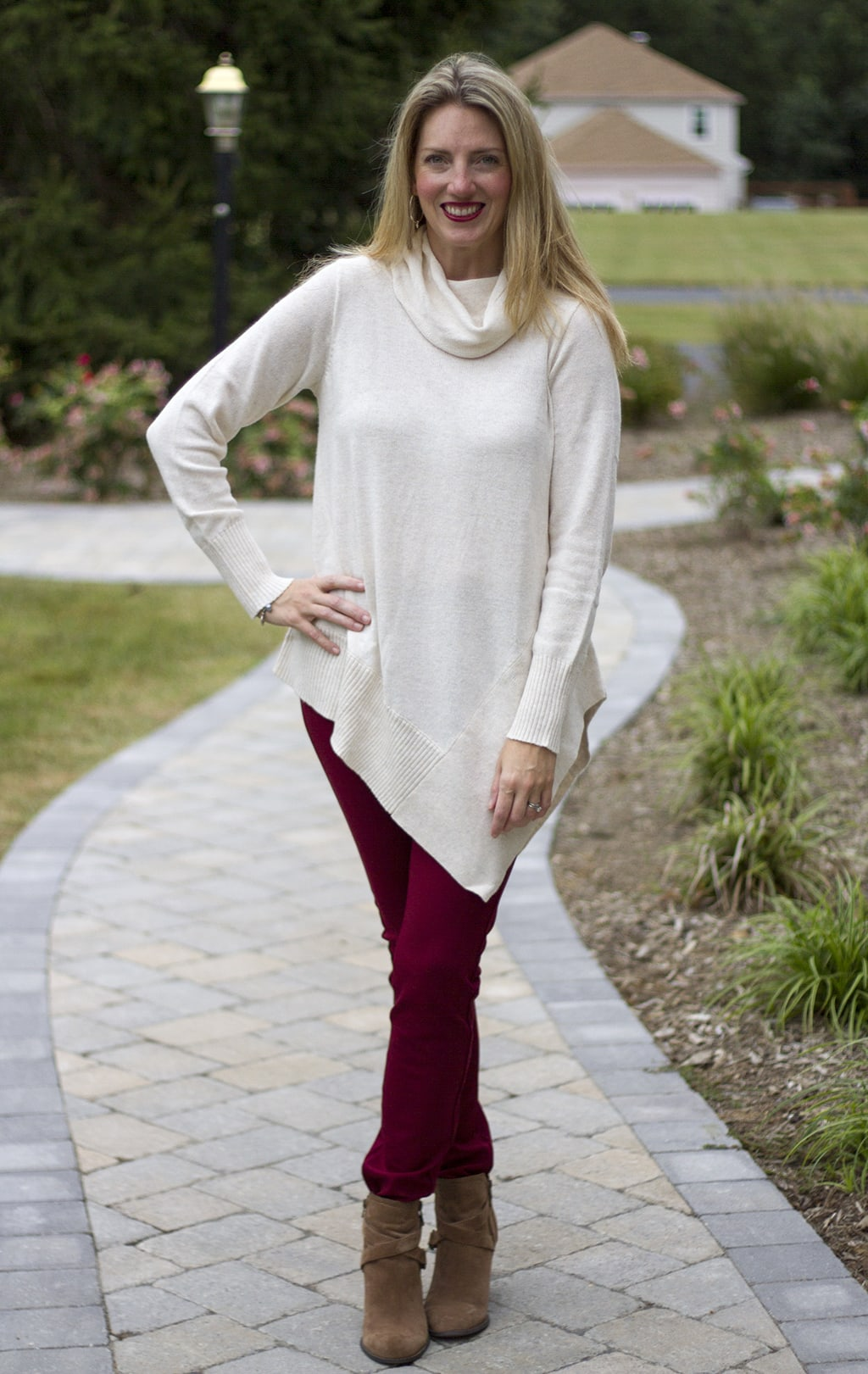 Cream Tunic and Leggings