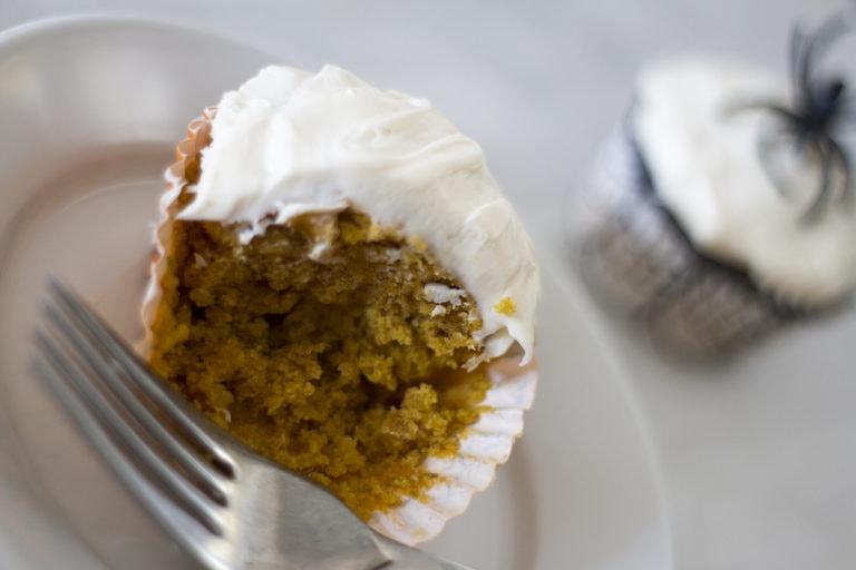 The Easiest Pumpkin Cupcake Recipe