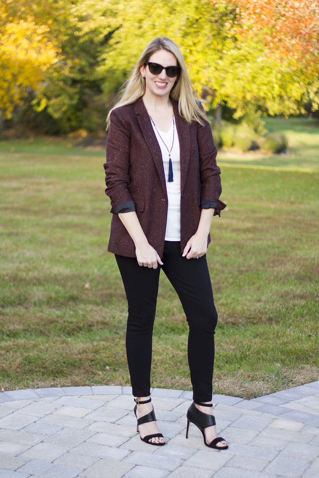 Brown Fall Blazer