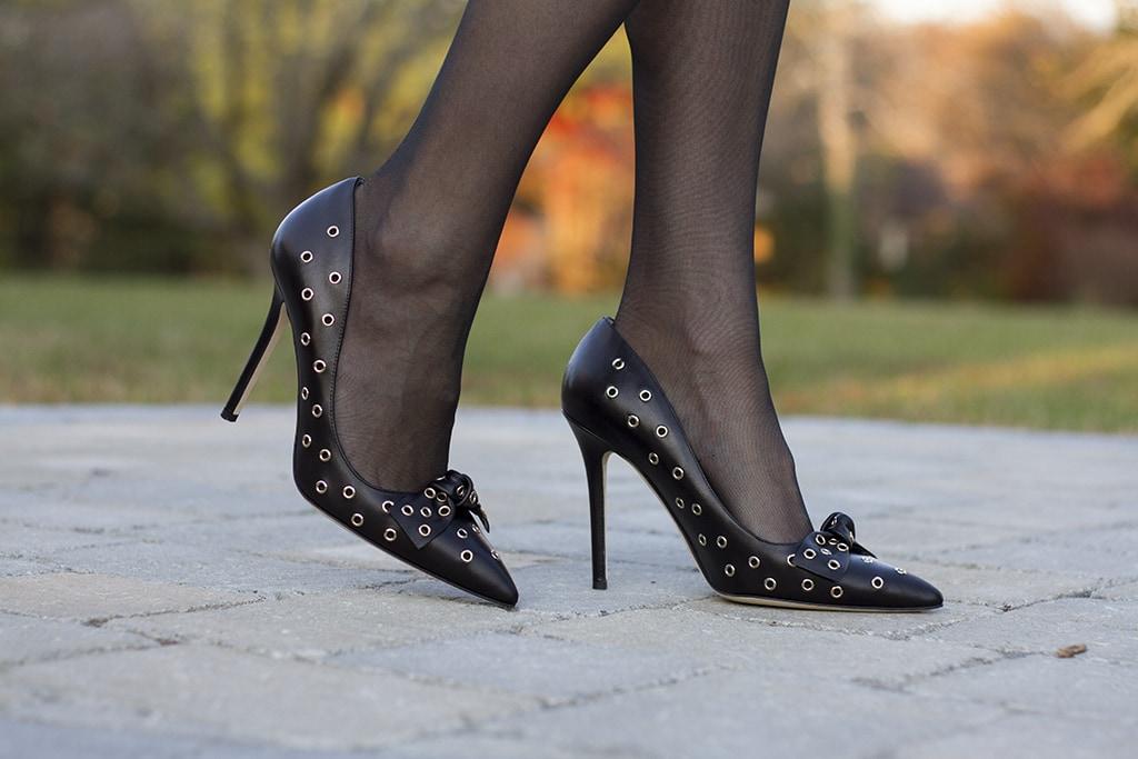 Kate Spade Grommet Heels