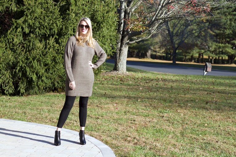 Easy Chic Sweater Dress