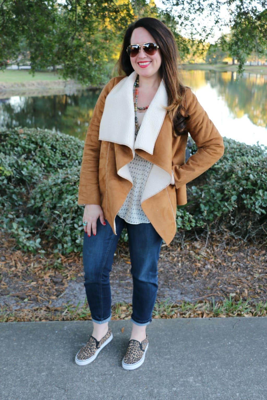 shearing jacket