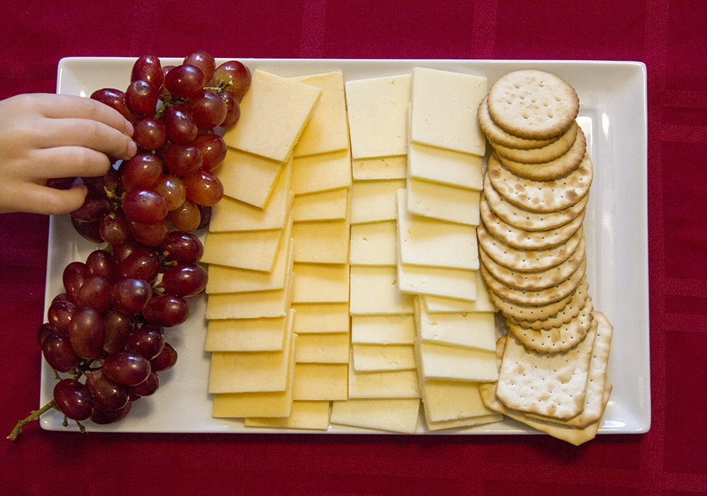 Cheese Tray from Peapod