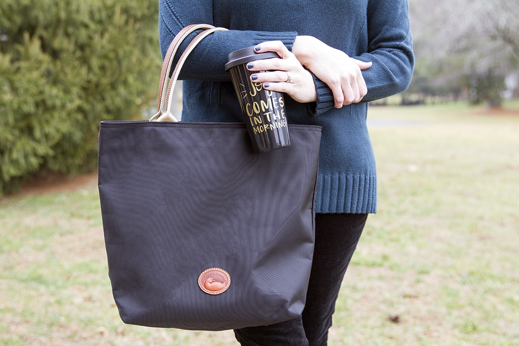 Black Dooney & Bourke Tote