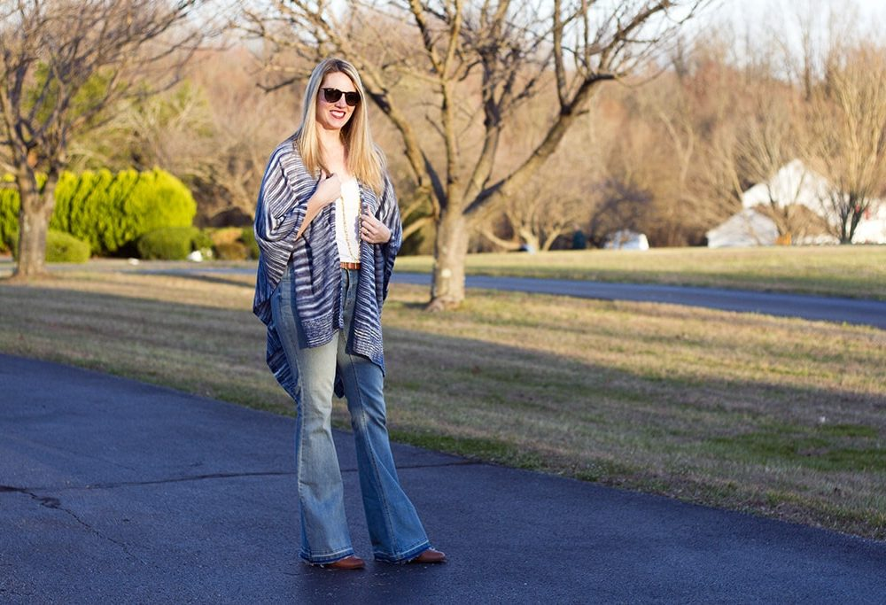 Lightweight Poncho for Spring