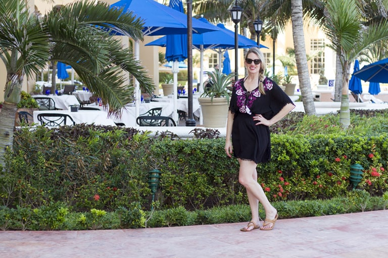 The Perfect Pretty Poolside Coverup